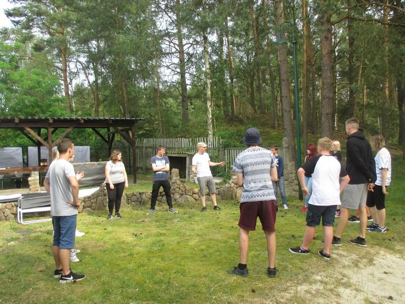 ....Das Jugendforum zu Gast im Jugendclub Glöwen....