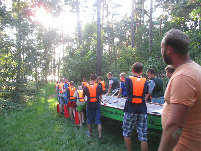 ...Tag 1 in Arendsee - Ankunft und Aktion...