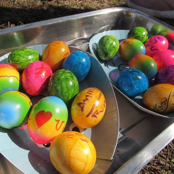 ...es waren                        schöne                        Osterferien...